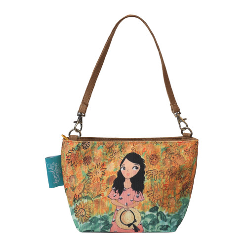 Foto Produk Pouch Mini Tempat Make Up Kosmetik Tas Kecil Summer Kamalika Artprints dari Kamalika Artprints