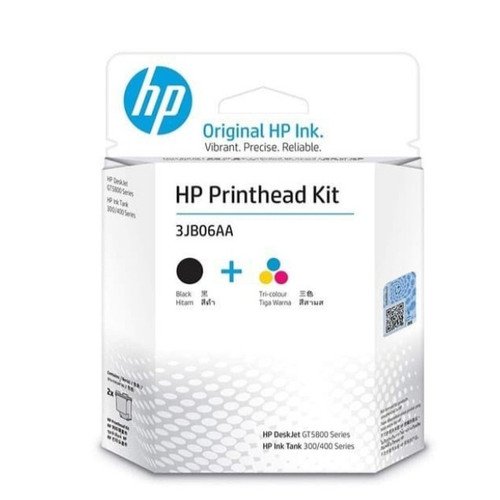 Foto Produk PrintHead Kit 3JB06AA Black Color GT51 GT52 Print Head Cartridge dari PojokITcom Pusat IT Comp