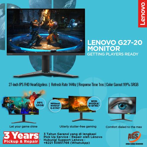 Foto Produk Lenovo Monitor Gaming G27-20 dari Myclub
