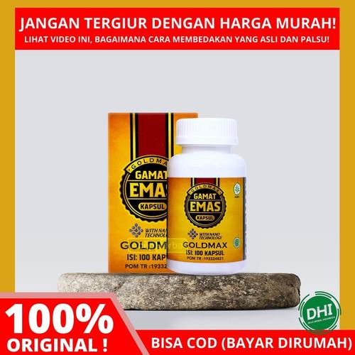Foto Produk GOLDMAX Gamat Emas Kapsul - 100% ASLI ORIGINAL - DISINI GRATIS ONGKIR dari DHI Jakarta Barat