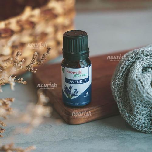 Foto Produk Happy Green Lavender Essential Oil 10 ml dari Nourish Indonesia