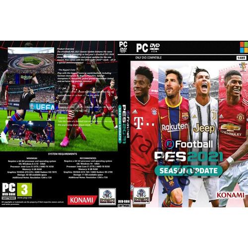 Foto Produk eFOOTBALL PES 2021+Patch - PC GAME 9DVD dari Homebase