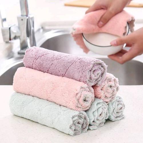 Foto Produk Micro Cleanmaid 40x40/Kain Lap Fiber Halus Motor/mobil/dapur/wastafel - 27x16 dari K2 Official Store