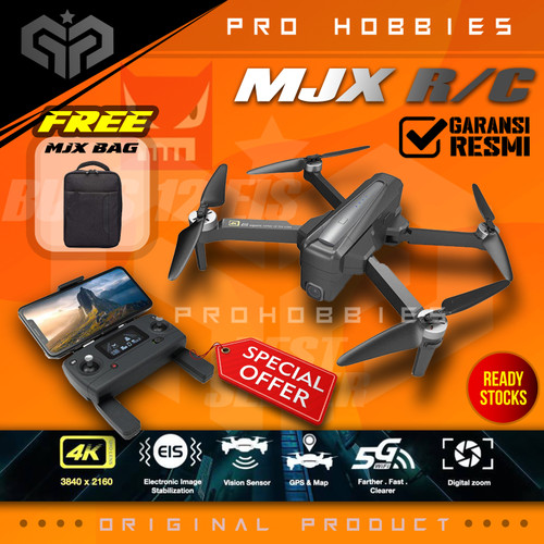 Foto Produk MJX BUGS 12 B12 EIS 4K 5G WIFI Digital Zoom Camera RC DRONE GPS - Single Battery dari Pro Hobbies