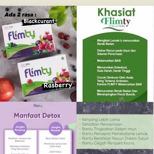 Foto Produk ❤️100% original ❤️ Flimty Fit and Healthy Fiber Diet & Detox - blueberry dari Koreanholicshop