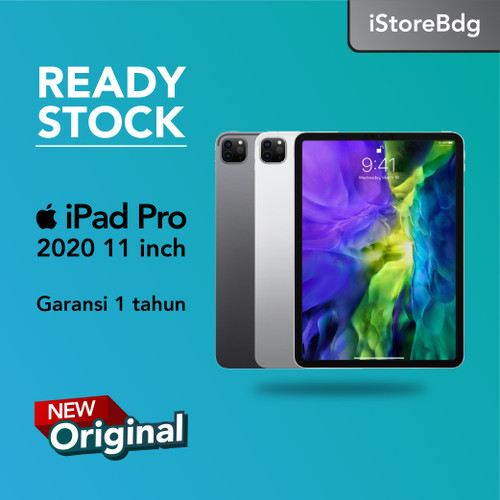 Foto Produk Apple iPad Pro 4 2020 11 inch 128GB Wifi Only - Silver dari iStorebdg