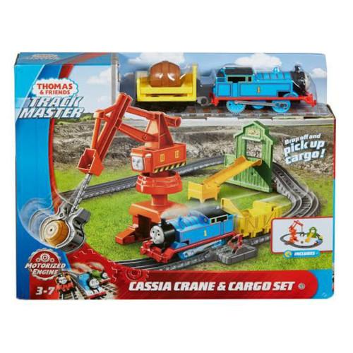 Foto Produk MATTEL, Thomas & Friends TrackMaster Motorized Cassia Crane & Cargo dari Top Bricks & Toys