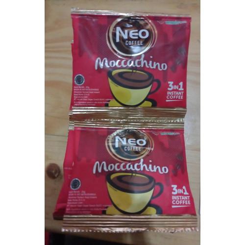 Foto Produk Kopi Neo Coffee 20 gr 1 Renceng (10 Bungkus) - CaramelMachiato dari LERENG LAWU