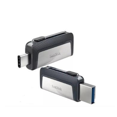 Foto Produk OTG Sandisk Type C 128gb SDDDC2 USB 3.0 Flashdisk Dual Drive 128 gb dari PojokITcom Pusat IT Comp