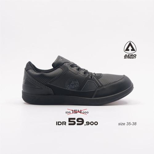 Foto Produk Aerostreet 35-38-Pabours-Hitam-Sepatu Sneakers Pria - 37 dari Aerostreet