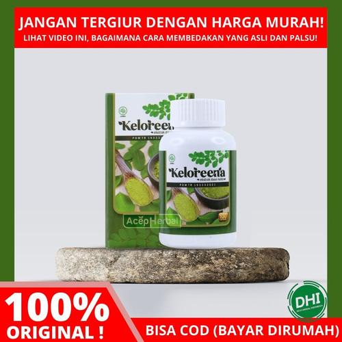 Foto Produk KELOREENA Kapsul / Kapsul Daun Kelor Asli / MORINGA OLEIFERA 100% Asli - 100 dari DHI Jakarta Barat