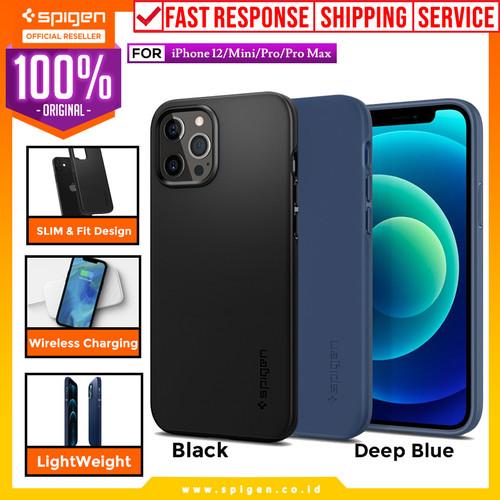 Foto Produk Case iPhone 12 Pro Max / Pro / 12 Mini Spigen Thin Fit Pro Slim Casing - 12 Pro Max, Pink Sand dari Spigen Official