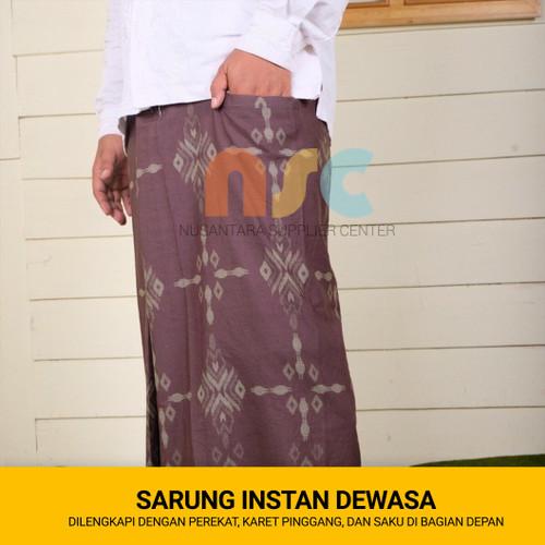 Foto Produk Kain Sarung Instan Dewasa + Perekat & Saku dari NSC Online