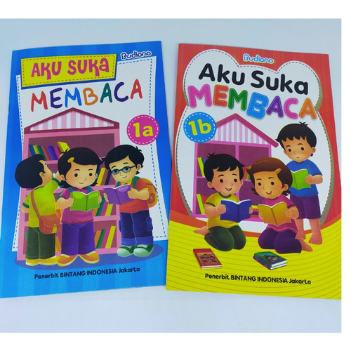 Foto Produk Buku Anak Aku Suka Membaca Untuk TK PAUD - Jilid 1B dari Toko Buku dan Stationery