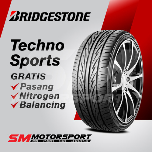 Foto Produk Ban Mobil Bridgestone Techno Sports 215/45 R17 17 91V XL dari SM Motorsport