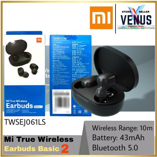 Foto Produk Xiaomi TWS Mi True Wireless Earbuds Basic 2 bluetooth 5.0 Earphone - BASIC 2 GLOBAL dari venus mobile
