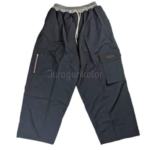 Foto Produk Celana Sirwal Cargo Pangsi Pria Panjang Model Rib Jumbo dari JuraganKolor