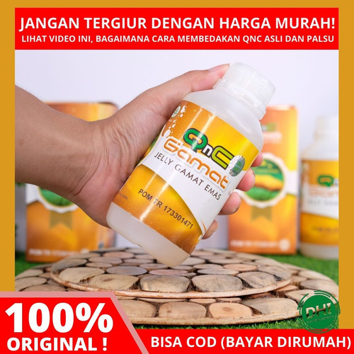 Foto Produk OBAT HISPRUNG / SUSAH BAB UNTUK BAYI, ANAK, DEWASA - QNC JELLY GAMAT dari DHI Jakarta Barat