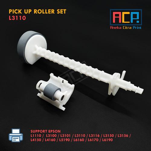 Foto Produk Set ASF Atas Bawah Pick Up Roller - Epson L1110 L3110 L3150 L5190 New dari Aneka Citra Print