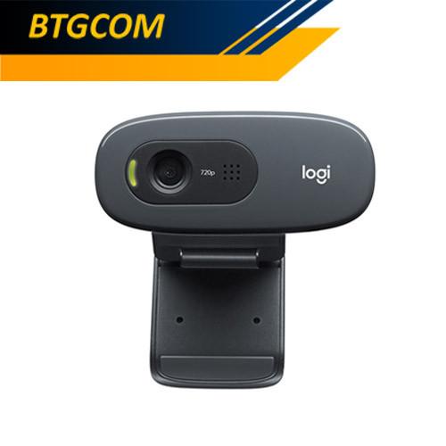Foto Produk Logitech C270 HD 720P Webcam Camera+Mic / C 270 720 P dari BTGCOM
