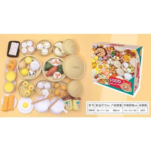 Foto Produk Mainan masak dimsum western breakfast pretend toys pretend play - Dimsum dari Thaya Store