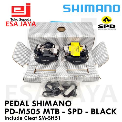 Foto Produk Pedal Cleat Shimano PD-M505 SPD MTB M505 Original Malaysia Box dari Esa Jaya