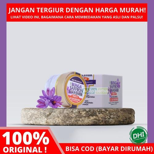 Foto Produk BUNGA SAFFRON KHASMIR 0.5 Gram - 100% Asli AFGANISTAN - GRADE AA dari DHI Jakarta Barat