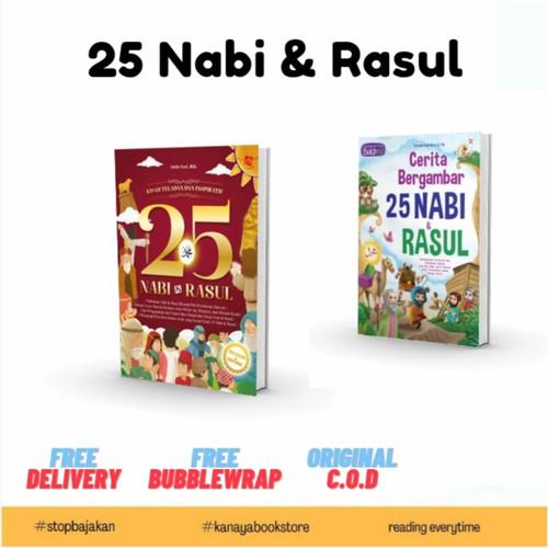 Foto Produk Buku cerita Nabi- cerita bergambar 25 nabi dan rosul dari kanaya bookstore