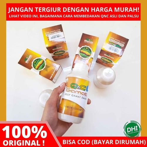 Foto Produk Obat Penghancur Miom dan Kista Alami dengan QNC Jelly Gamat. 100% Asli dari Devi Herbal Indonesia