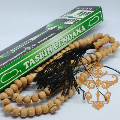 Foto Produk Tasbeh Tasbih Kayu Cendana Wangi 99 Butir 8 mm dari reynaldo-tan