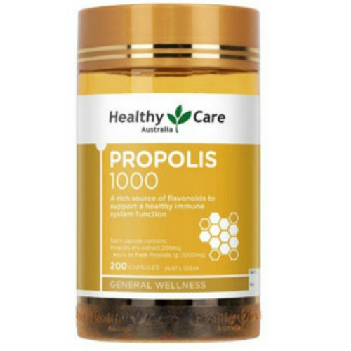Foto Produk healthy care propolis 1000 mg 200 capsule dari Hulk Supplement
