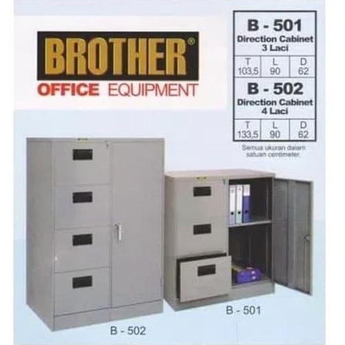 Foto Produk Lemari Arsip Filing Cabinet Besi 4 Laci B 502 Brother dari klikfurniture