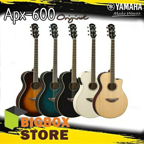 Foto Produk Yamaha Gitar Akustik Elektrik APX-600 / APX600 / APX 600 dari BigBox store