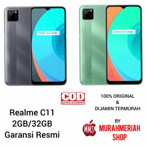Foto Produk REALME C11 2/32 RAM 2GB ROM 32GB GARANSI RESMI - Grey dari murahmeriah shop