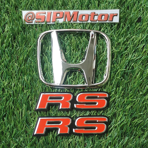 Foto Produk Paket Upgrade Emblem Logo Honda New Brio Satya ke RS dari SIPMotor