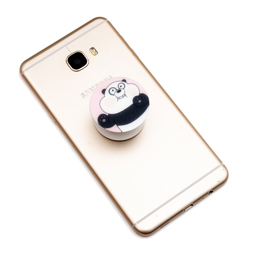 Foto Produk WE BARE BEARS - Griptok Akrilik/ Phone Holder/ Stand HP/ Phone Grip - PSIW-002 dari Kelontong Unik