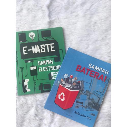 """Foto Produk Bundling - Buku """"Sampah Elektronik"""" dan """"Sampah Baterai dari EwasteRJ Shop"""