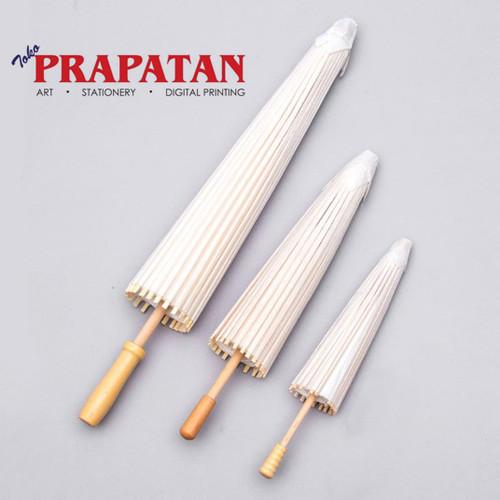 Foto Produk Payung kertas / payung lukis / payung gambar (Diameter : 30 cm) dari Toko Prapatan-alat lukis