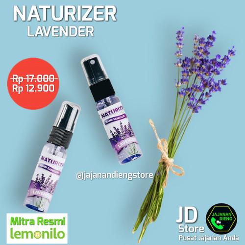 Foto Produk Hand Sanitizer Naturizer Lemonilo - Levender dari Jajanan Dieng Store