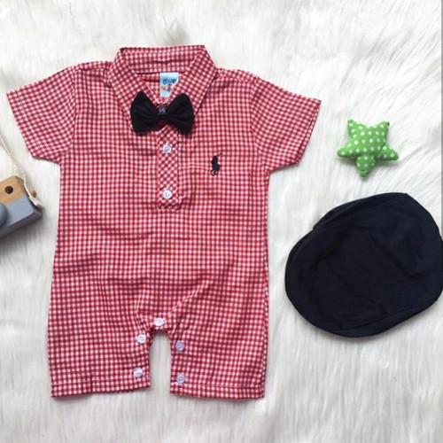Foto Produk baju setelan kekinian lucu bestseller anak bayi cowok laki murah -bab dari babyclothingco