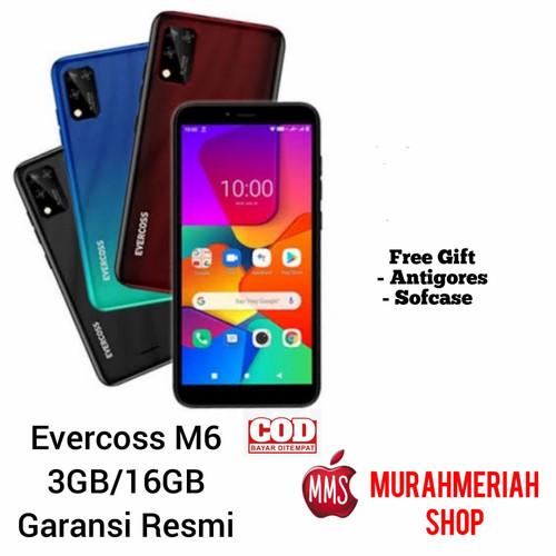 Foto Produk Evercoss M6 3/16Gb Garansi Resmi - Hijau dari murahmeriah shop