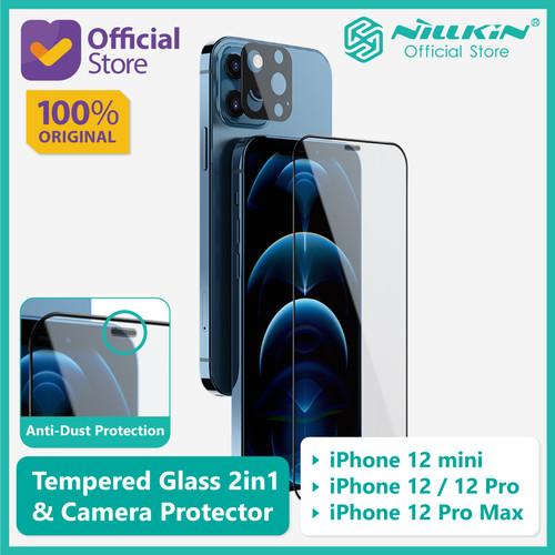 Foto Produk Tempered Glass iPhone 12/mini/Pro/Max Nillkin 2in1 HD+Camera Protector - 12 Pro Max dari Nillkin Official