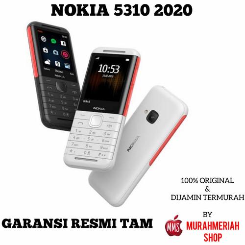 Foto Produk NOKIA 5310 2020 GARANSI RESMI TAM - Hitam TAM dari murahmeriah shop