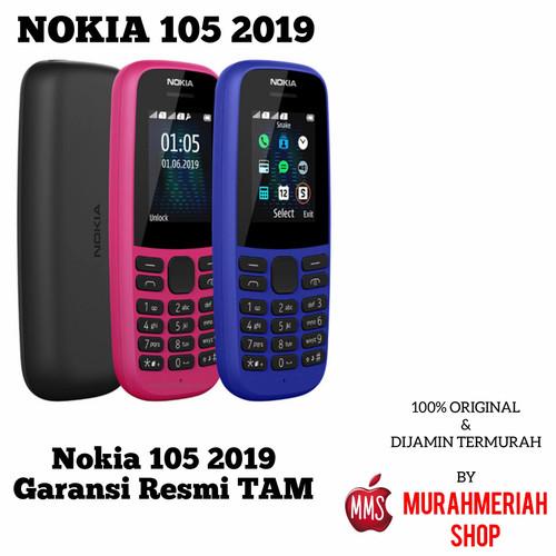 Foto Produk NOKIA 105 NEW 2019 KING GARANSI RESMI TAM - BIRU TAM dari murahmeriah shop