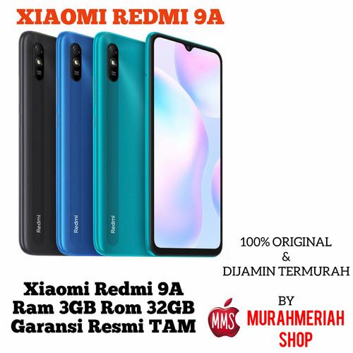 Foto Produk Xiaomi Redmi 9A 3/32 3GB 32GB Garansi Resmi Tam - 2GB.32GB, grey dari murahmeriah shop