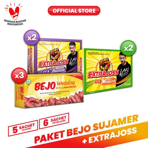 Foto Produk Paket Bejo (SUJAMER) Susu Jahe Merah + Extra Joss Kuat 1 dari Bintang Toedjoe Official
