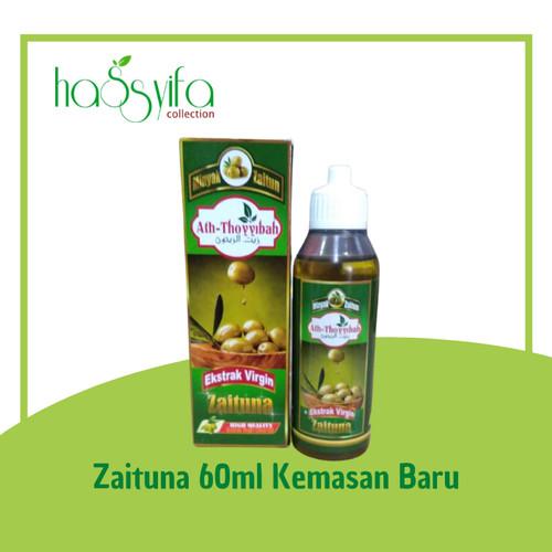 Foto Produk ZAITUNA OLIVE OIL EXTRA VIRGIN / MINYAK ZAITUN EXTRA VIRGIN 60 ml - BARU dari Hassyifa collection