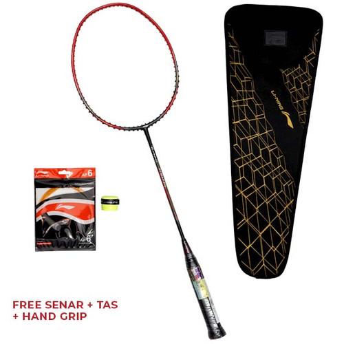 Foto Produk Raket Badminton Li-Ning Turbo X Original - 50 G4 Black Red dari SPORTAWAYS