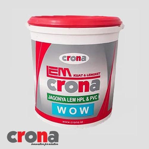 Foto Produk Lem HPL Crona WOW 4 Kg dari BKO Wooden shop