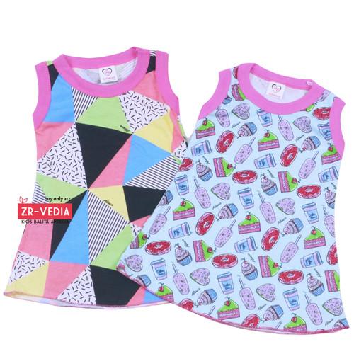 Foto Produk Daster Yukensi uk Bayi / Dress Bayi Perempuan Murah Bahan Kaos Adem dari ZR-Vedia